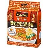明星 中華三昧 赤坂榮林 酸辣湯麺 3食パック×8袋入 (24食)