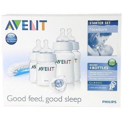 Philips Avent Scd271/00 Newborn Baby Bottle Starter Set / Kit / Pack Brand New