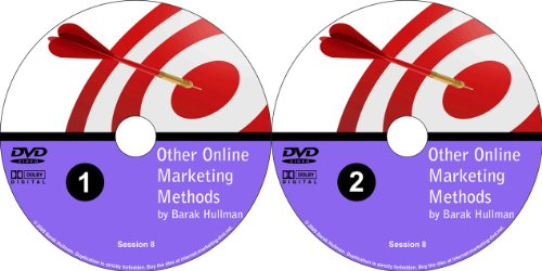 Every Possible Way to Market Your Website Explained Simply and to the Point: 2 DVD Set