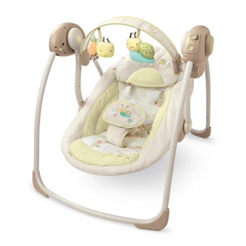 Discover Bargain Bright Starts InGenuity Portable Swing, Bella Vista