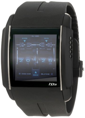 HD3 Men's PV00 V1 CA01 Titanium PVD with Digital Dial Watch