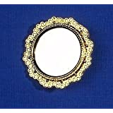12th Scale Dolls House Accessory - Round Mirror