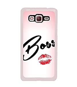 Boss Lips 2D Hard Polycarbonate Designer Back Case Cover for Samsung Galaxy Grand Prime :: Samsung Galaxy Grand Prime Duos :: Samsung Galaxy Grand Prime G530F G530FZ G530Y G530H G530FZ/DS