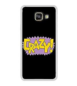 Crazy 2D Hard Polycarbonate Designer Back Case Cover for Samsung Galaxy A5 (2016) :: Samsung Galaxy A5 2016 Duos :: Samsung Galaxy A5 2016 A510F A510M A510FD A5100 A510Y :: Samsung Galaxy A5 A510 2016 Edition