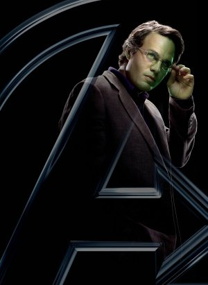 THE AVENGERS - BRUCE BANNER INCREDIBLE HULK - US MOVIE FILM WALL POSTER - 30CM X 43CM