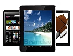 BRANDEV® KLICKE 9.7 inch Android Tablet, 16GB STORAGE, Android 4.0 Ice Cream Sandwich Tablet, Fast Powerful 1GB RAM, 10 Point Capacitive Touch Screen, Flashplayer 11.1, BBC iPlayer, You Tube, Facebook, SKYPE, Amazon Kindle, HDMI, Dual Cameras.