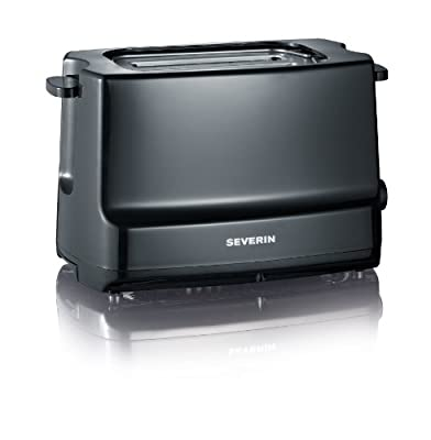 Severin Automatic 2-Slice Toaster, 800 Watt, Black from SEVERIN