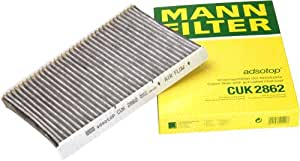 Mann-Filter CUK 2862 Cabin Filter With Activated Charcoal for select  Audi/ Volkswagen models
