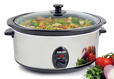 Better Chef 6.9 Quart Slow Cooker by Prime Pacific