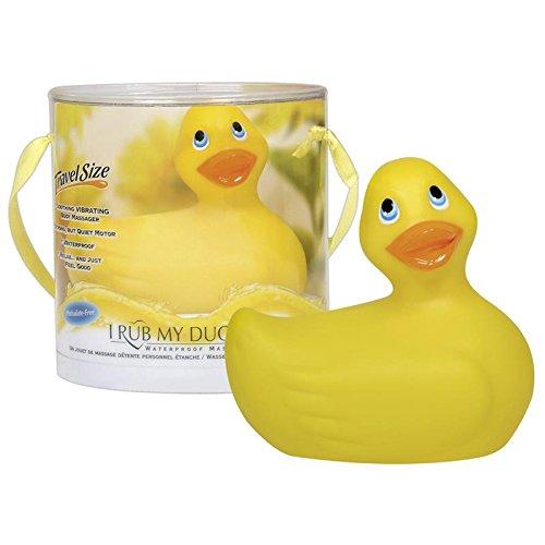 I Rub My Duckie Aufliegevibrator Bade-Ente gelb, mini, Gift-Bag
