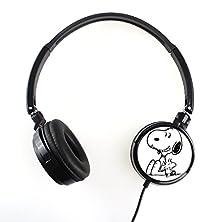 buy Snoopy 1Fsnp019 Earphone Headphone Fashion Cartoon Stereo Sound