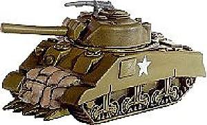 Axis and Allies Miniatures: Veteran M4 Sherman Rhino # 25 - Set II