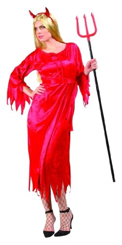 RG Costumes 81336 Adult Sexy Devil Dress Costume With Horns