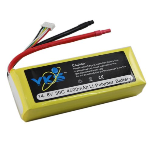 4500mah 4s 14.8v 30c Rc Lipo Battery Akku Airplane 14.8