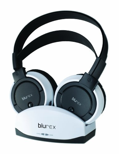 Blurex Wireless Headphones With Charging Dock(900Mhz) Blx-Ws1756