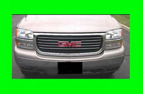 2000 2006 gmc yukon chrome grille grill kit 2001 2002 2003. Black Bedroom Furniture Sets. Home Design Ideas