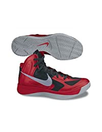 Nike Men's NIKE HYPERFUSE BASKETBALL SHOES 9.5 (UNIVERSITY RED/WOLF GREY/BLACK)