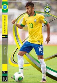 ネイマール ブラジル ST パニーニフットボールリーグ Panini Football League 2014 03 pfl07-125