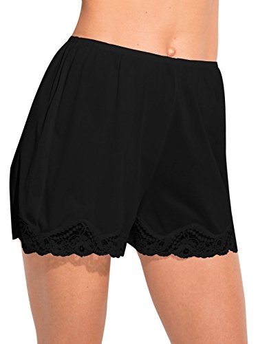Ilusion Classic Daywear Bloomer Slip Small Black