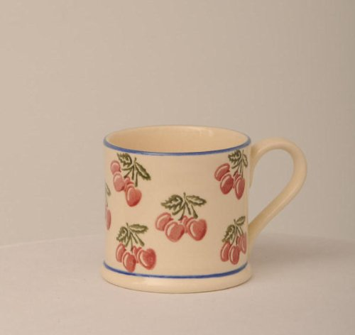 Brixton Pottery Cherries 250ml Large Mug
