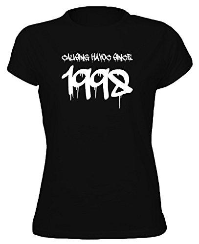 GRAFFITI CAUSING HAVOC SINCE YEAR 1998 - 18th Birthday Gift / Present Womens T-Shirt