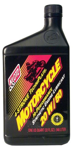 KLOTZ 20/50 MOTORCYCLE OIL (QT), Manufacturer: KLOTZ, Manufacturer Part Number: KL-850 (10)-AD, Stock Photo - Actual parts may vary. (Klotz Snowmobile Oil compare prices)