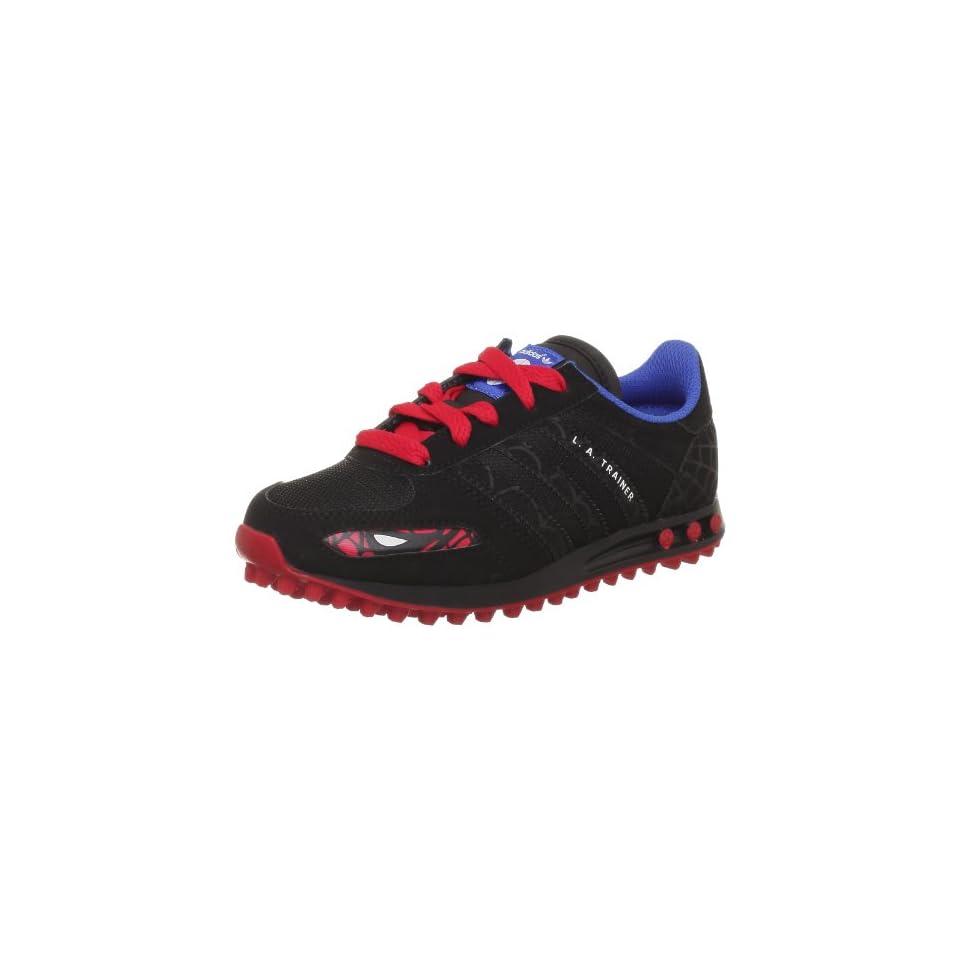 Adidas LA Trainer Disney Kids Black Black Red 33 Schuhe