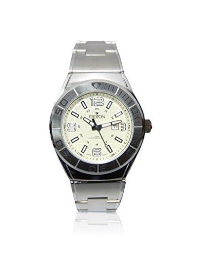 Croton Women's CA201237SSPA Pineapple Stainless Steel Watch