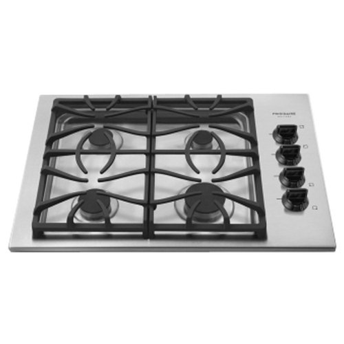 """Frigidaire Fggc3045Ks 30"""" Gas Cooktop With Quick Boil And Express-Select Controls From The Gallery Col, Stainless Steel"""