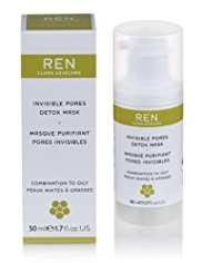 REN Invisible Pores Detox Mask 30ml