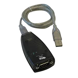 Tripp Lite Keyspan by USA-19HS High-Speed USB Serial Adapter, PC, Mac, Supports Cisco Break Sequence