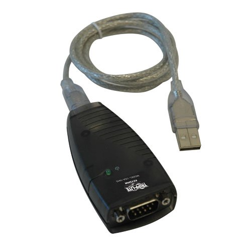 Keyspan by Tripp Lite USA-19HS High-Speed USB Serial Adapter, PC, MAC, supports Cisco Break Sequence