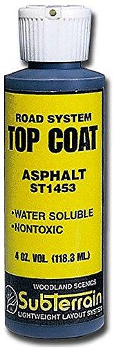 Woodland Scenics WS 1453 Top Coat Asphalt Paving 4 oz. - 1