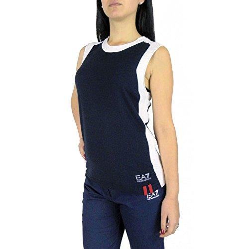 T-shirt donna EA7 EMPORIO ARMANI, maglia smanicata, art: 3XTH02 TM02Z (S)