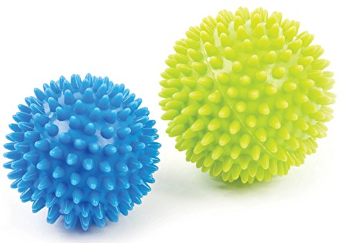 Sensory Spikey Massage Ball Set (four balls: two 2.75 in and two 3.5 in)