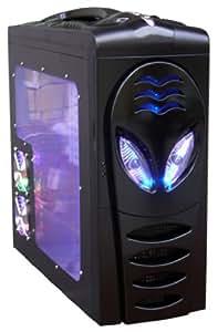 COLORS IT 8018 C4 BLACK GAMING 480W PC CASE