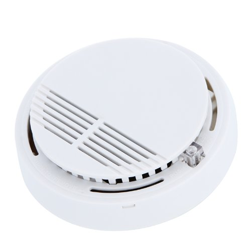 Andoer Détecteur de fumée de système autonome /l'alarme incendie de fumée à domicile de sécurité pour la cuisine 9V de maison