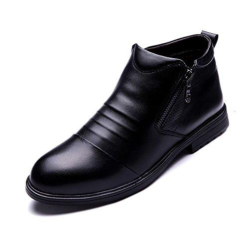 Scarpe calde/Aggiungere peluche stivali imbottiti/Stivaletti uomo/ breve tubo le scarpe dell'Inghilterra-A Lunghezza piede=25.3CM(10Inch)