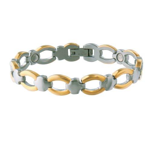 Sabona Women's Casual Classic Magnetic Bracelet – S/M