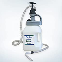 ProFill 5L Oil Drum with Hand Pump and Storage Lid