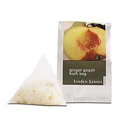 [Linden Leaves] Bath Bag - Ginger Peach (25g)