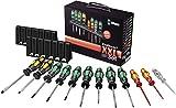 Wera 05051011001 Kraftform XXL TX, Screwdriver Allround Set with Laser Tip and Rack, 12 Piece