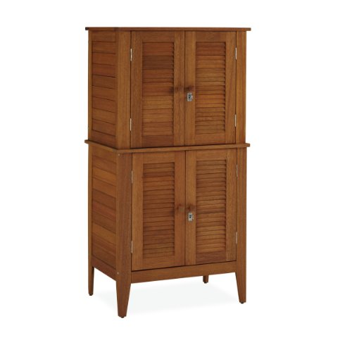 Home Styles Montego Bay Outdoor Multi-Purpose Storage Cabinet, Four Door (Chest Of Drawers 22 Inches Wide compare prices)