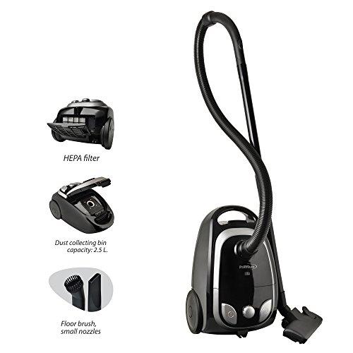 Premium PVC821 2-in-1 Vacuum Cleaner, Black/Green (Countertop Vacuum Cleaner compare prices)