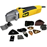 Wolf Oscillating Combo Multi Tool with Variable Speed Control Complete with Accessories All Supplied in Heavy Duty Tool Bag - It Cuts, It Saws, It Scrapes, It Sands and More