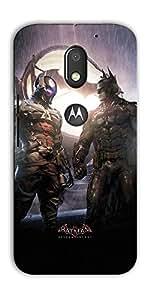 DigiPrints High Quality Printed Designer Soft Silicon Case Cover For Motorola Moto E3 Power