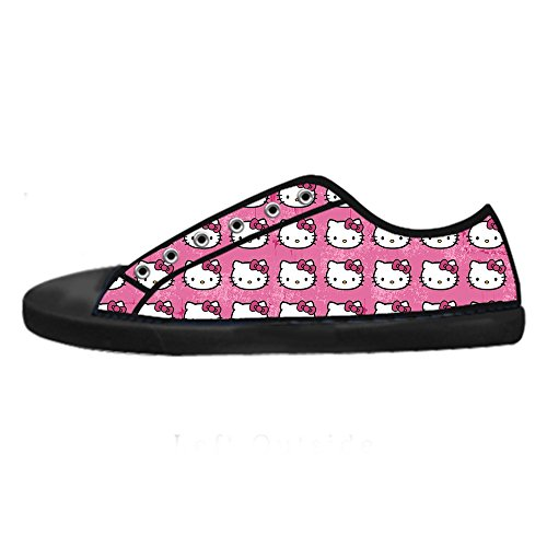 YKMS-Custom-Hello-Kitty-Ladys-Womens-Canvas-Shoes-Footwear-Sneakers