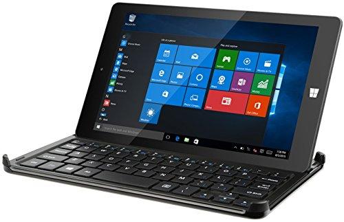 Kocaso 8-Inch 32GB Windows 10 Tablet w/ Intel Quad Core Processor, 1GB Ram, High Resolution HD Screen + Stylish Snap-in Keyboard Case -W812N (Tablet 1gb Ram Quad Core 10 compare prices)