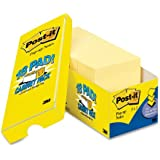 Post-it Pop-up Notes, 3 x 3-Inches, Canary Yellow, 18-Pads/Cabinet Pack