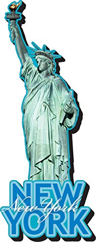 Aquarius Statue of Liberty Funky Chunky Magnet - 1